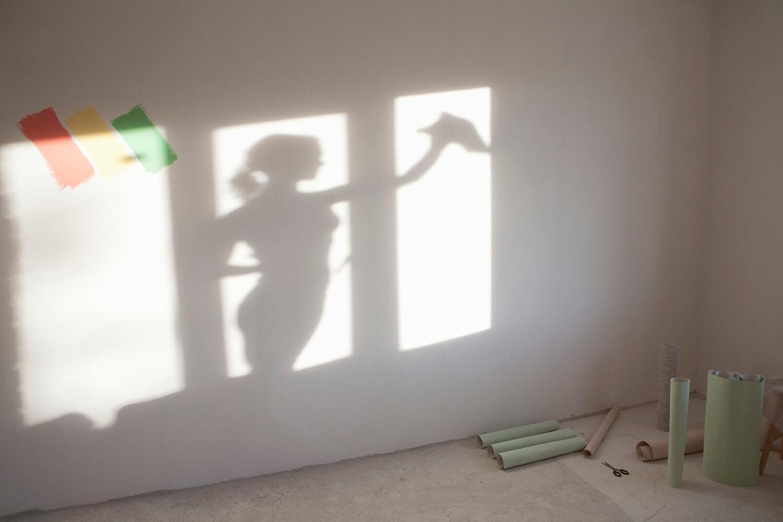 remont w domu a nowa tapeta